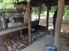A typical outside 'dirty' kitchen Diy Wood Stove, Philippines Palawan, Dirty Kitchen, Coron, Filipino, Homesteading, Outdoors, Beautiful, Google Search