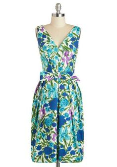 Steeping Willow dress