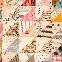 Charm Quilt – Two Sided – Baby   Mingei