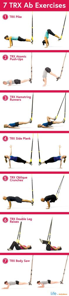 LiHao Schlingentrainer Suspensionstrainer TRX Functional Training Fitness – www.a … - Fitness Tipps Fitness Workouts, Trx Ab Workout, Trx Abs, Lower Ab Workouts, Easy Workouts, At Home Workouts, Ab Exercises, Workout Board, Exercise Workouts