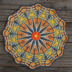 Ravelry: Crochet Overlay Mandala No. 6, Pattern PDF pattern by CAROcreated design