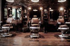 Best barber shops interiors