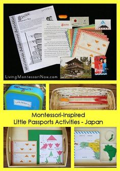 Montessori Monday - Montessori-Inspired Little Passports Global Adventure