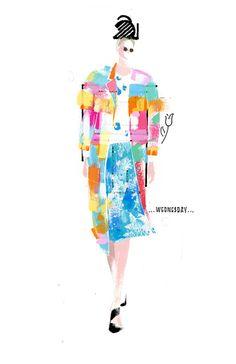 Renshou-Zhang-Thom-Browne-Spring-2015 fashion illustration
