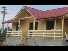 Constructii case din lemn la rosu -  constructia casei de la Comarnic, j...