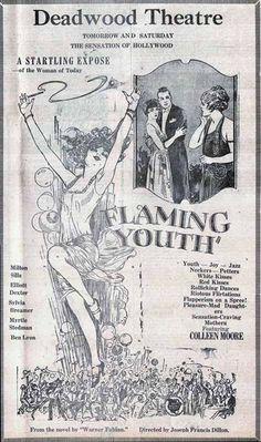 1920's Deadwood entertainment