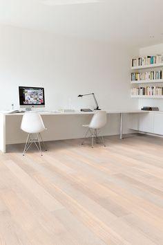 Quick-Step Castello wood flooring - 'Polar oak satin' (CAS1349) www.quick-step.com