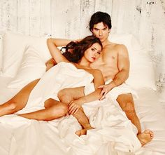 Nina Dobrev - The Vampire Diaries - TVD - Ian Somerhalder