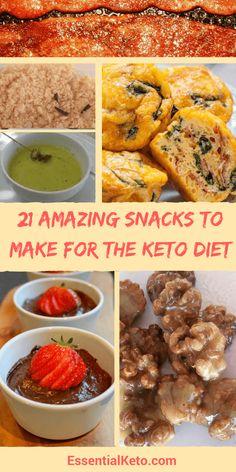 Snacks to make for Keto Diet