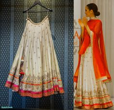Anita Dongre - TheDelhiBride Indian Wedding Outfits, Indian Outfits, Indian Dresses, Indian Weddings, Indian Attire, Desi Clothes, Asian Clothes, Indian Designer Wear, Chanya Choli