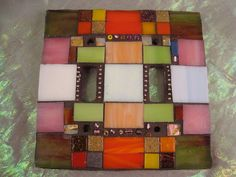 MOSAIC DOUBLE LIGHT Switch Plate Cover by victoriacharlotte, $24.00