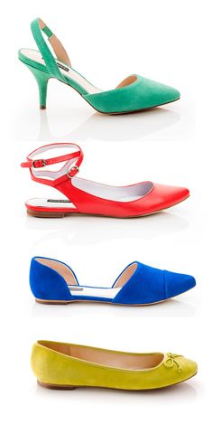 Comfy shoes in must have colors