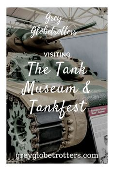Everything you need to know about visiting the British Tank Museum at Bovington, including photos of lots of the armoured vehicles and tanks   #tank #military #perfectweekend #ww1 #ww2 #war #challenger2 #history #army #bovington #museum #travel #weekendbreak #daytrip