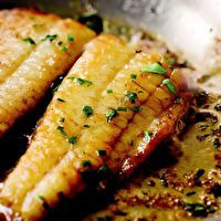 Flounder with Lemon-Butter Sauce by Leite's Culinaria