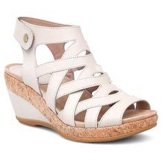 5981303992bb Dansko Cecily Ivory Leather High Heel