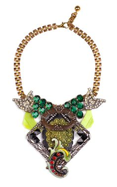 100 Year Necklace Featuring Vintage Parts From 1860-1960 by for Preorder on Moda Operandi.....WOW