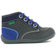 Boots / Chaussures montantes Kickers BONBON Gris 350x350