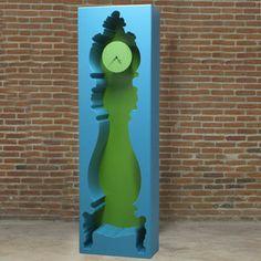InsideOut Clock Blue