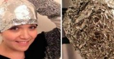 This girl covered her hair with aluminum foil after washing. This girl covered her hair with aluminum foil after washing. Cheveux Ternes, Best Hairdresser, Beauty Hacks, Beauty Tips, Hair And Beauty, Healthy Hair Growth, Hair Quality, Strong Hair, Tips Belleza