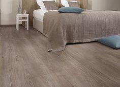 Grey oak laminate flooring bring you quietness and comfort.