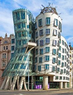 Frank Gehry Buildings and Architecture Photos | Architectural Digest Dancing House,Prague