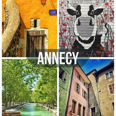 'Annecy Poster Art' by ZoeCalvert French Alps, Beautiful Images, Bubble, Snoopy, Creative, Poster, Photography, Character, Decor