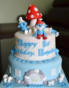 The+Cake | Cakes » The Smurfs cake