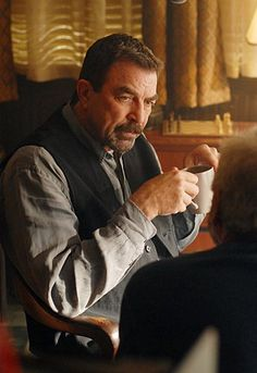 Jesse Stone (Tom Selleck). This man is like a fine bottle of wine, he gets better with time.