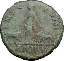 GORDIAN III 241AD Vimiancium BULL & LION Legions Sestertius Roman Coin i54755
