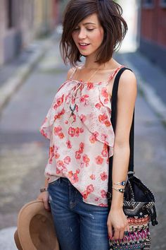 Cute Blouse, love the print!