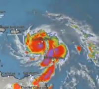 Hurricane Maria has widespread devastation in Dominica as it goes directly toward St. Category 5, Painting, Art, Art Background, Painting Art, Kunst, Paintings, Performing Arts, Painted Canvas