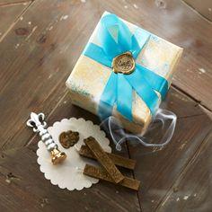 Wax Seal DIY Gift Box Packaging