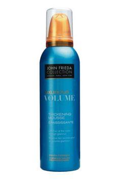 No 2: John Frieda Luxurious Volume Thickening Hair Mousse, $5.99, 11 Best Oily Hair Remedies