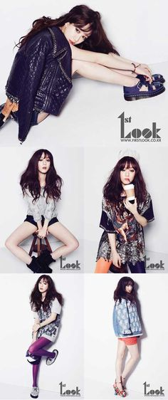 Actress Jung Ryeo Won goes sexy chic for '1st Look'