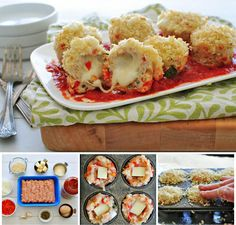 mini-chicken-parmesan-meatloaf-cupcakes