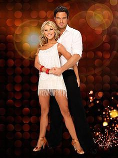 DWTS Season 8 Cast Celebrity Chuck Wicks and Professional Julianne Hough