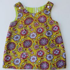 Reversible Dress Sewing Tutorial