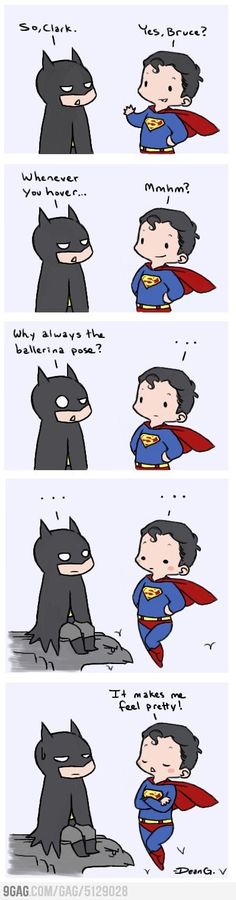 Batman and Superman at it again...