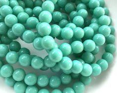 hole: 1mm Qty10 beads 12~22mm long Amazonite Gemstone Beads about 5~7mm wide