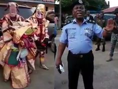 Video: Lagos Police commissioner arrests masquerades in Agege for robbery http://ift.tt/2wyQclL