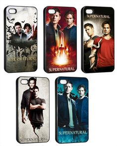 Supernatural Cell Phone Cases ... when I get a phone upgrade, someone needs to get me one of these