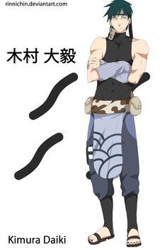 Naruto [OC]: Kimura Daiki by Rinnichin Naruto Shippuden Sasuke, Anime Naruto, Anime Ninja, Anime Oc, Naruto Art, Boruto, Naruto Clothing, Oc Manga, Naruto Oc Characters