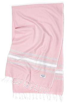Silvery Stripes - Rose Quartz