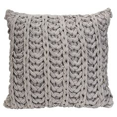 Knitted Pillow // surface texture