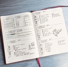 Timeline Ideas for your Bullet Journal - www.christina77star.co.uk