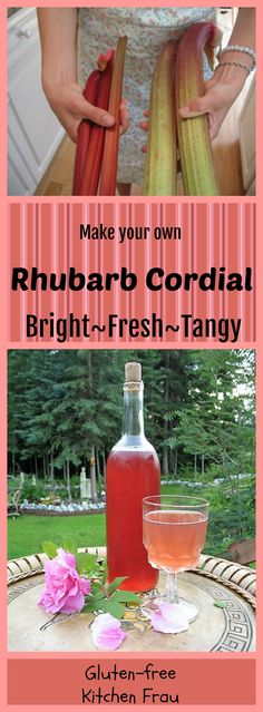 Refreshing Rose & Lavender Rhubarb Cordial or tangy Bay & Star Anise Rhubarb Cordial. Mix with sparkling water for delicious summer drinks. Refreshing Drinks, Summer Drinks, Cocktail Drinks, Alcoholic Drinks, Rhubarb Plants, Cordial Recipe, Cold Brew Iced Coffee
