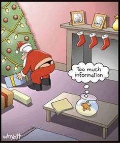 Santa wears a thong OMG