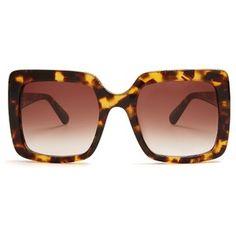67832d5a37088 Óculos de sol quadrados Stella McCartney Falabella Óculos Escuros  Estilosos, Armações De Óculos De Sol