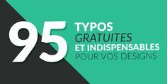 95 typos gratuites et indispensables pour vos designs - Blog Tuto.com