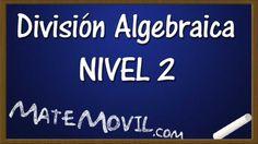 Revisamos ahora el segundo nivel de división algebraica.